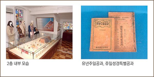 2층 내부 모습, 유년주일공과,쥬일성경특별공과