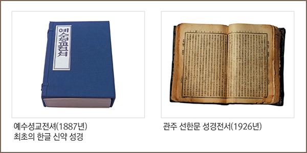 예수셩교젼셔(1887년)최초의 한글 신약 성경, 관주 선한문 성경전서(1926년)